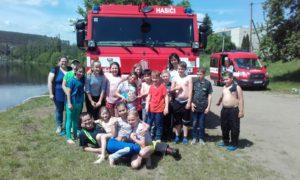 Odpoledne s hasiči